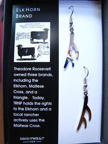 Elkhorn Brand Earrings