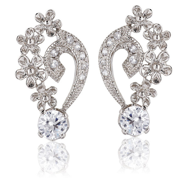 Grace Petal Earrings - S