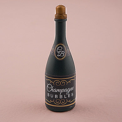Set of 24 Wedding Bubbles In Champagne Bottle