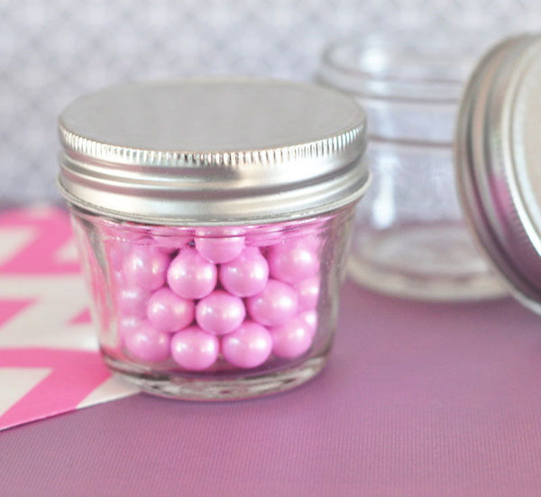 DIY Blank Small 4 oz Mason Jars