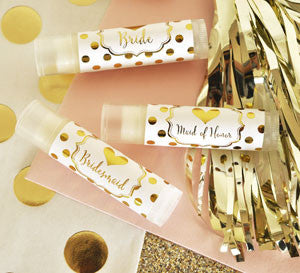 Personalized Foil Lip Balm Tubes