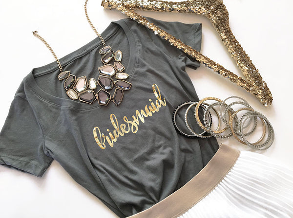 Bridal Party T-shirt - Scoop Neck