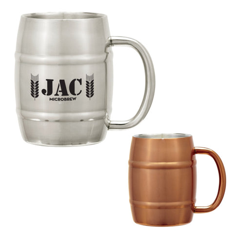 14 oz Barrel Mug