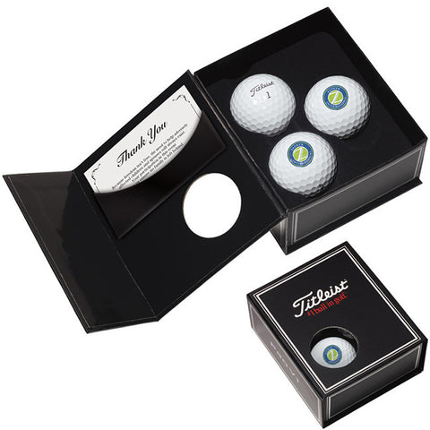 Titleist Pro V1 or Pro V1X 3- ball Appreciation Box