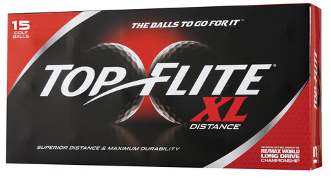 Top Flight XL Distance 15 pack Golf Balls