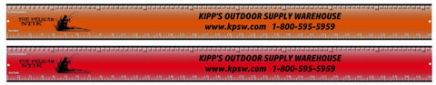 Metal Fishing Ruler 36""