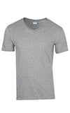 Adult V-Neck T-Shirt with Print