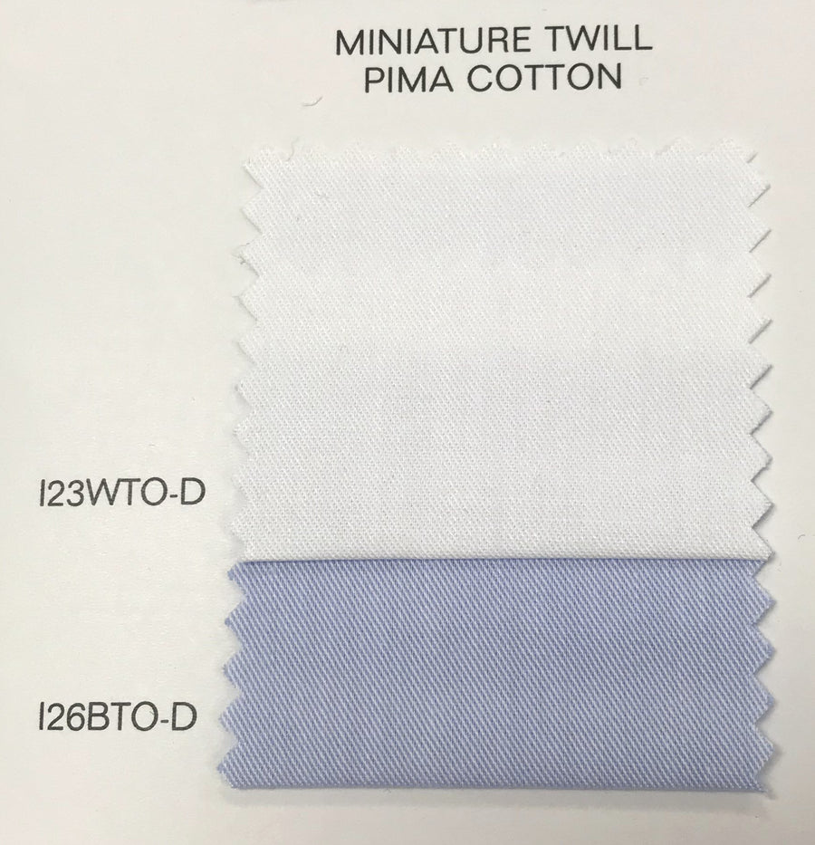 Minature Twill Solid