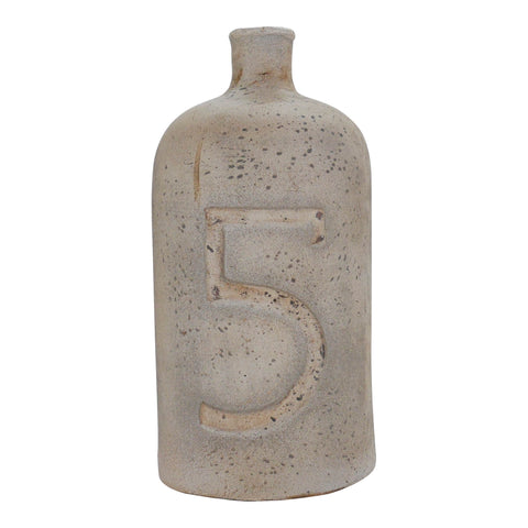 "Decorative Terracotta Bottle, Large ""5"""