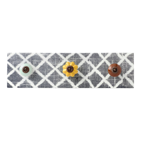 Decorative Hanger, 3 knobs Wall Dí©cor by Hallmark Home & Gifts