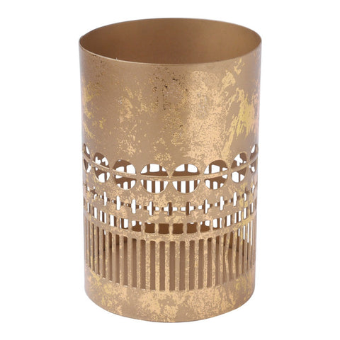 Short Gold Lantern Lantern by Hallmark Home & Gifts