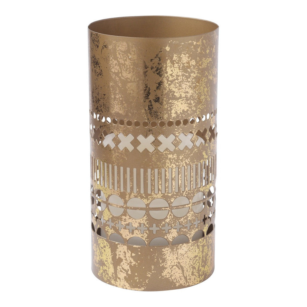 Tall Gold Lantern Lantern by Hallmark Home & Gifts