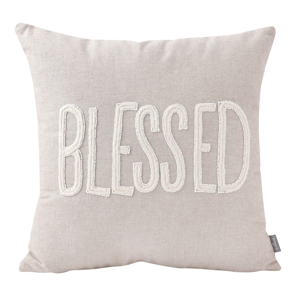 Blessed Pillow (16x16) Pillow by Hallmark Home & Gifts
