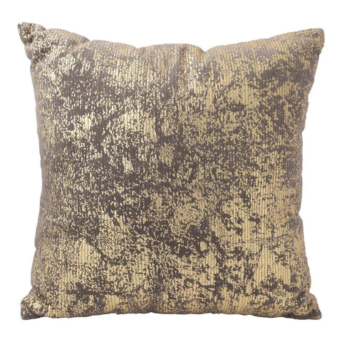 Brown Pillow with Gold Foil (20x20) Pillow by Hallmark Home & Gifts