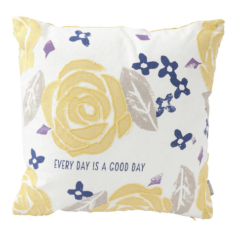 Good Day Floral Pillow (16x16) Pillow by Hallmark Home & Gifts