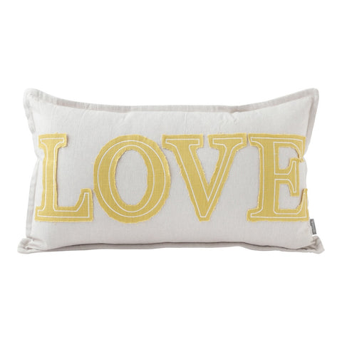 Love Pillow (20x12) Pillow by Hallmark Home & Gifts