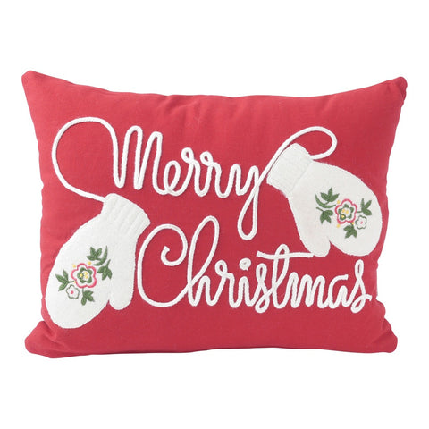 Mittens Pillow (16x12) Pillow by Hallmark Home & Gifts