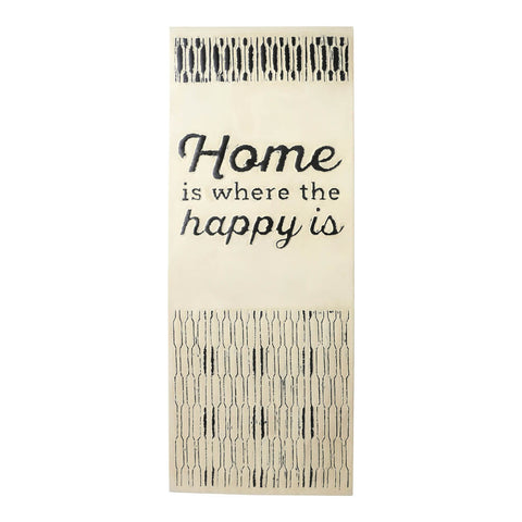 "Hallmark Home ""Home is where..."" Oversized Wall Art (24x60)"