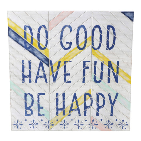 Wall Sentiment - Do Good Wall Dí©cor by Hallmark Home & Gifts