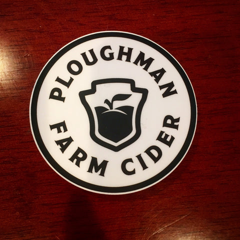 Ploughman Sticker