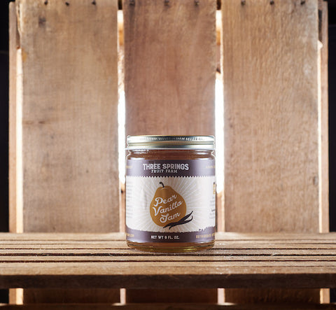 Pear Vanilla Jam - WEB EXCLUSIVE