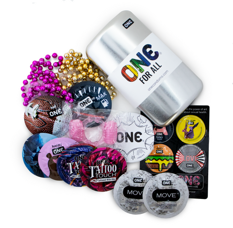 ONE® Condoms Special Edition Pride Pack
