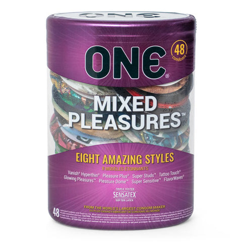 Mixed Pleasures Condom 48-Pack