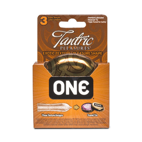 Tantric Pleasures Condom 3-Pack