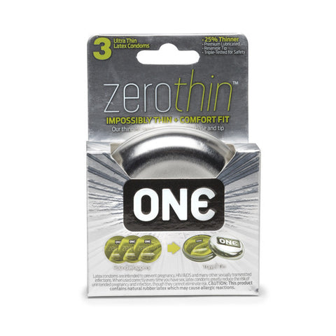 ZeroThin Condom 3-Pack