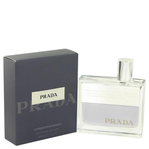 PRADA AMBER BY PRADA EAU DE TOILETTE SPRAY 1.7 OZ