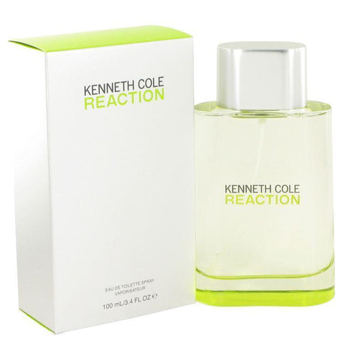 KENNETH COLE REACTION BY KENNETH COLE EAU DE TOILETTE SPRAY 3.4 OZ