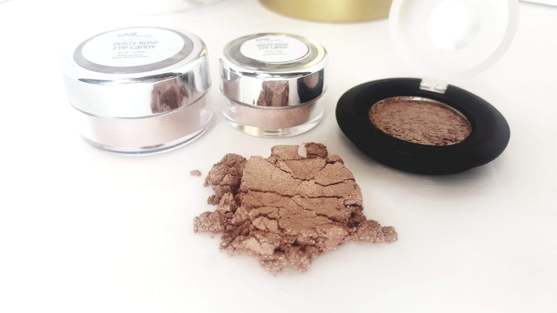 raw-beauty-llc Beauty & Health - Beauty Essentials Mineral Eye Makeup | Dusty Rose | Raw Beauty Minerals