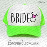 "Gorra estampada ""Bride"" Cute"
