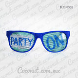 "Lentes ""Party On"""