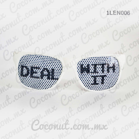 "Lentes ""Deal with it"""