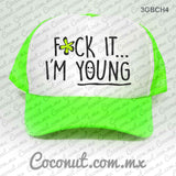 "Gorra estampada ""F*ck it... I´m young"" Cute"