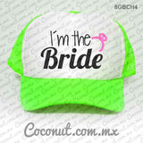 "Gorra estampada ""I´m the Bride"""