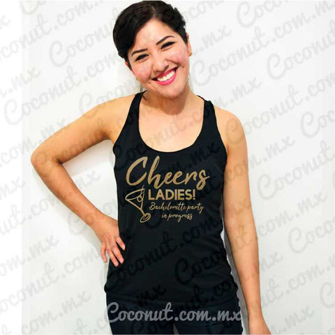 "Blusa ultraligera ""Cheers ladies!"""