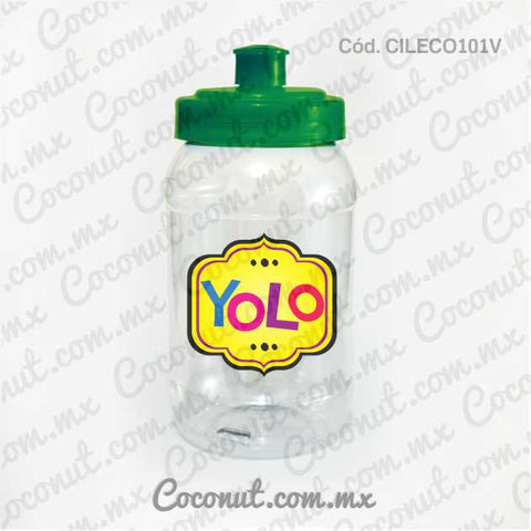 "Cilindro Pocket de 500 ml. ""YOLO"""
