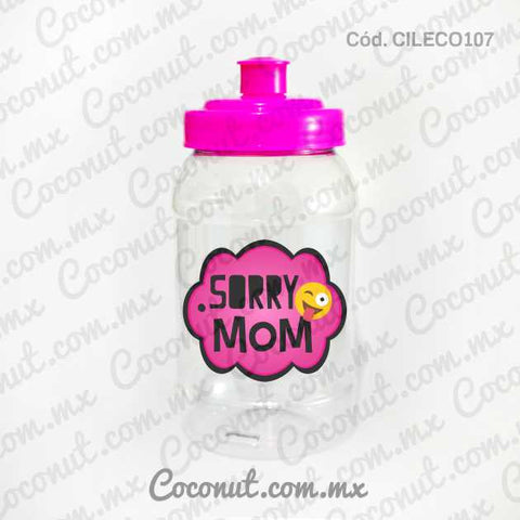 "Cilindro Pocket de 500 ml. ""Sorry Mom 1"""