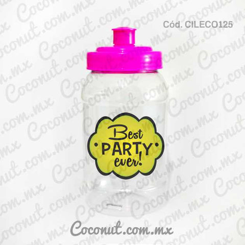 "Cilindro Pocket de 500 ml. ""Best party ever"""