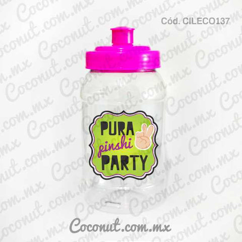 "Cilindro Pocket de 500 ml. ""Pura pinshi party"""