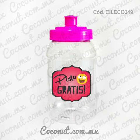 "Cilindro Pocket de 500 ml. ""Pisto gratis!"""