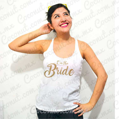 "Blusa ultraligera ""I´m the Bride"""