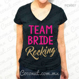 "Blusa ""Team Bride Rocking"""