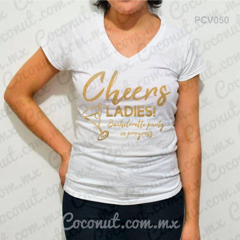 "Blusa ""Cheers ladies!"""