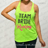 "Blusa ultraligera ""Team bride rocking"""