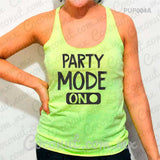 "Blusa ultraligera ""Party Mode On"""