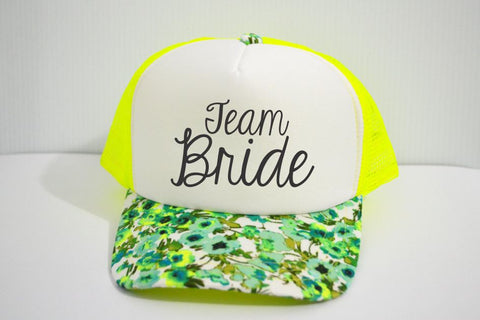 "Gorra ""Team Bride"" EDICIÓN LIMITADA"
