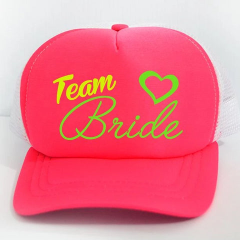 "Gorra ""Team Bride"" Últimas piezas!"
